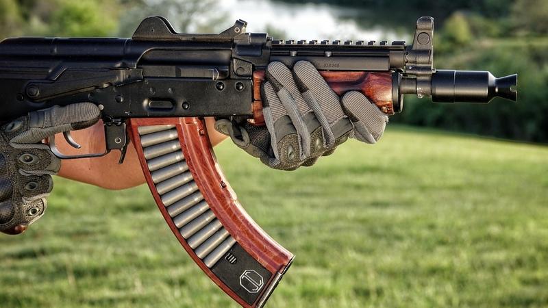 JMac AK104 booster DeadAir Wolverine PBS-1