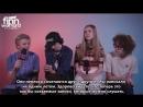 2018   Интервью группы «Calpurnia» для «MTV»   русские субтитры