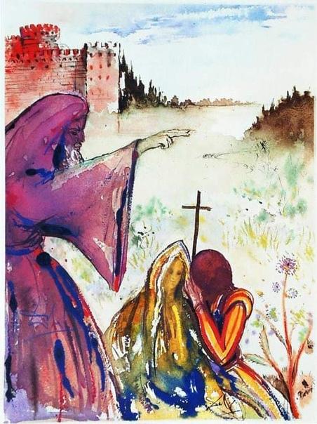 Ромео и Джульетта, Уильям Шекспир. Иллюстрации Сальвадора Дали. Это ограниченное издание в количестве 999 экземпляров было выпущено в красном шёлковом