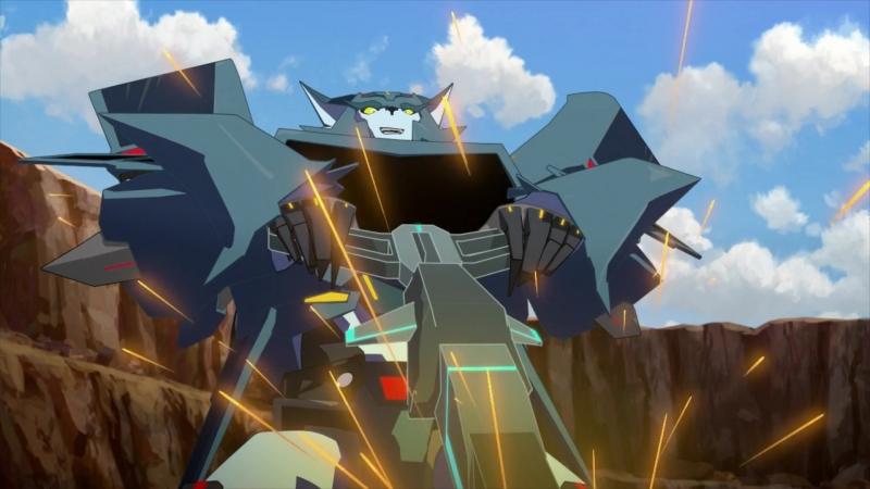 «Трансформеры. Роботы под Прикрытием Сила Объединения» 3 сезон 19 серия. (Озвучка Fronda)