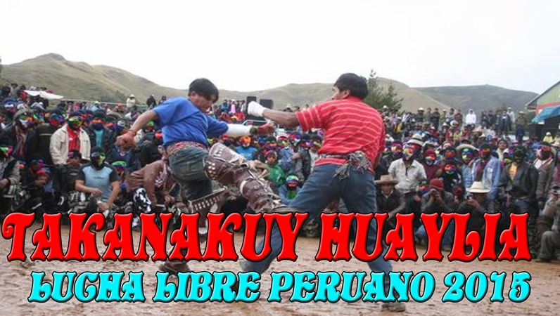 TREMENDA PELEA DE HOMBRES EN PERÚ 2015 Men FIGHTS IN PERU TAKANAKUY HUAYLIA CUSCO PERÚ