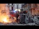 Explosion au 9e arrondissement de paris Les images sont Impressionnantes