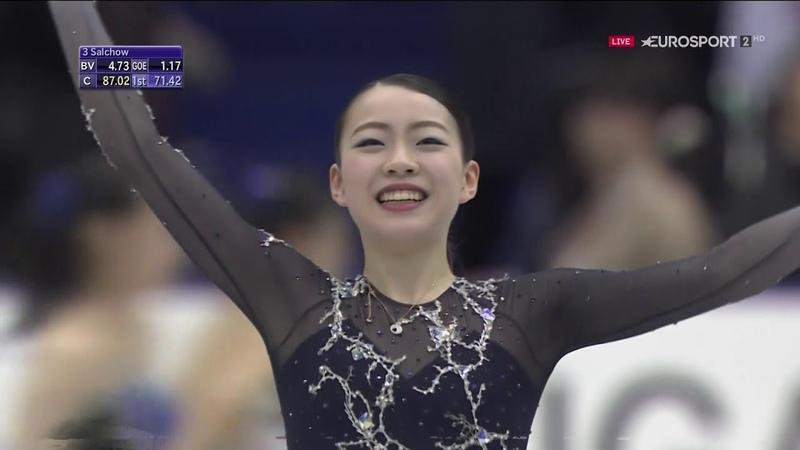 Rika Kihira 2018 NHK Trophy FP