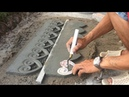 NICE TOOL - Creative Sand And Cement Working - how to render - construction