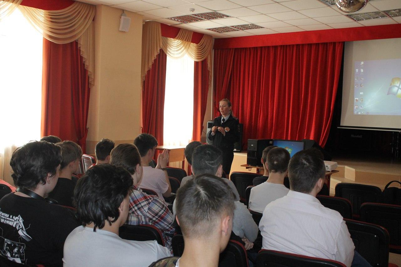 О мерах профилактики ДТП поговорили в колледже Савеловского