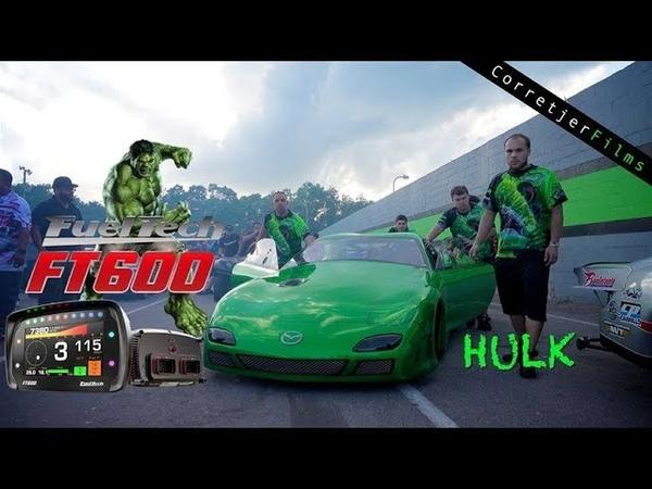 Hulk 13b Mazda RX7 Powered by FuelTech