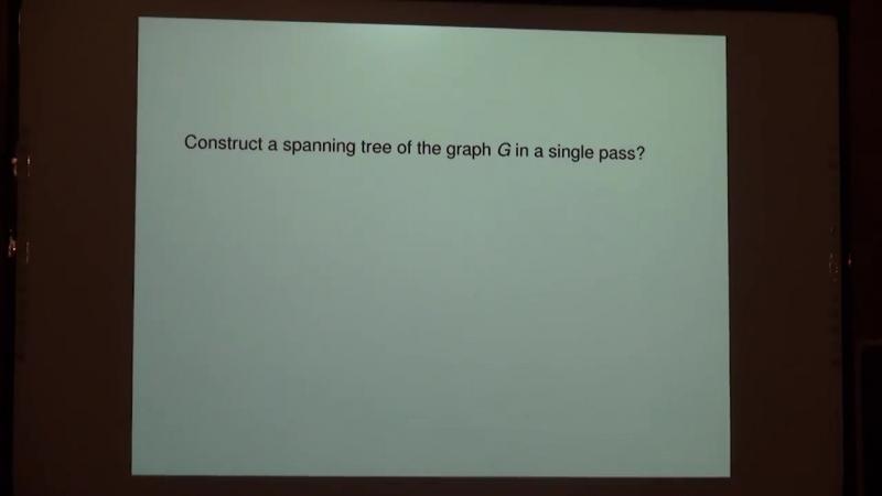 Lecture 13   Recent Advances in Algorithms   Michael Kapralov
