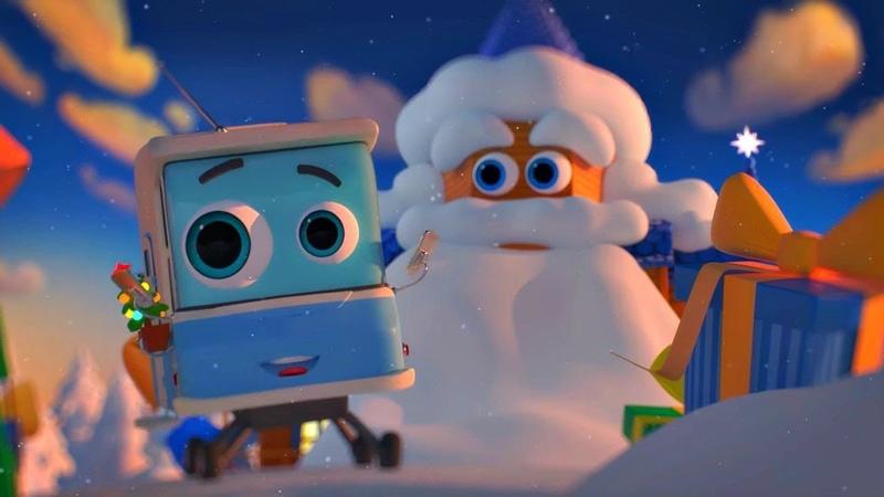 Домики - Дом Деда Мороза (4 серия) | Мультики про домики