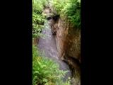 река внутри каньена,