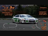 Gran Turismo 2 - Tuned Turbo Car N1 Challenge - Test Course - Mitsubishi Lancer Evo V RM