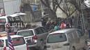 Видео с места теракта в центре сирийского города Манбидж, в результате которого погибли военнослужащие США