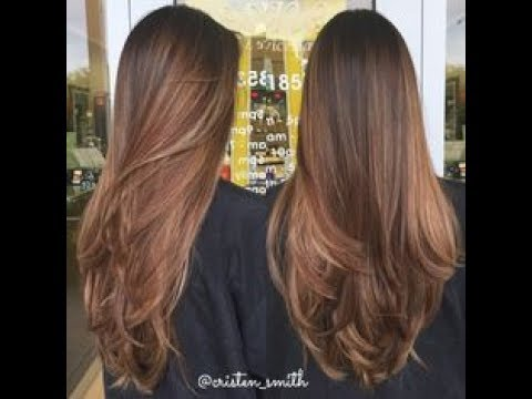 Corte de cabelo em camada - Faça em casa sozinha / Layered - Make it home alone