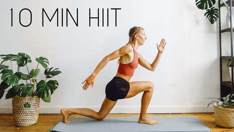 FULL BODY FAT BURN HIIT WORKOUT At Home No Equipment