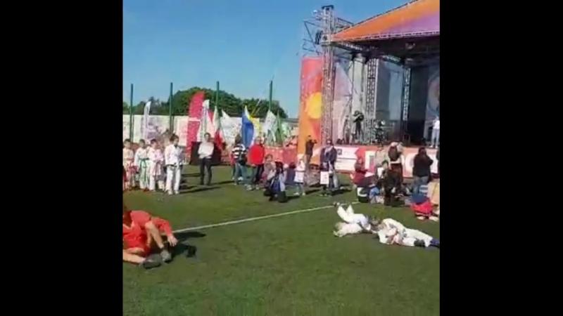Поздравляем наших спортсменов с успешными показательными выступлениями на празднике, организованным мэрией г.Москвы, посвященным