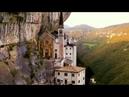 Sospeso tra cielo e terra il Santuario della Madonna della Corona una meraviglia tutta italiana