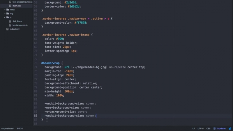 Гоша Дударь Bootstrap верстка современного сайта за 45 минут