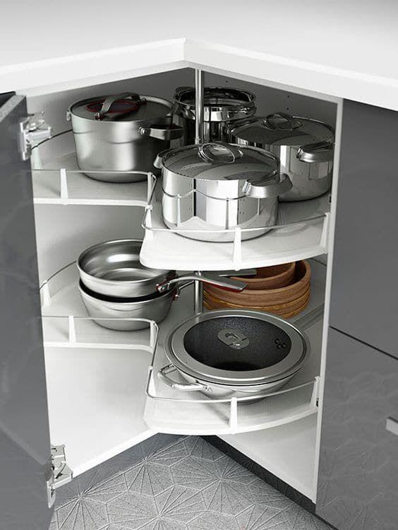 Кухня, в которой продумано все до деталей!
