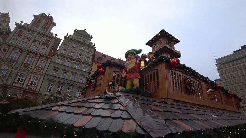 Ярмарки Вроцлава, Польша / Targi Wrocław, Polska / Сhristmas market, Wroclaw, Poland