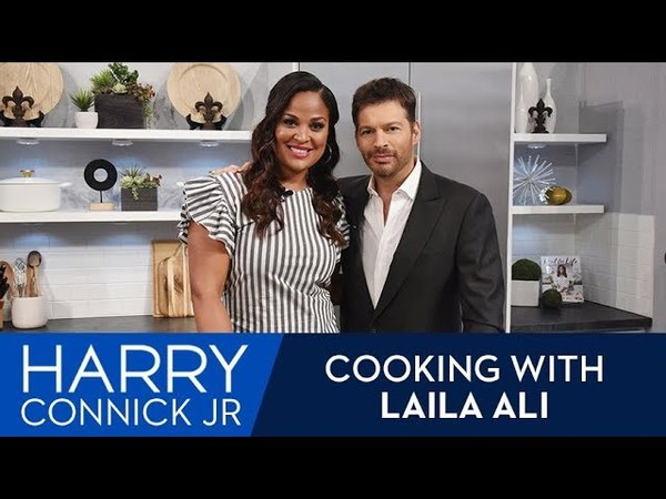 Harrys Cooking with Laila Ali