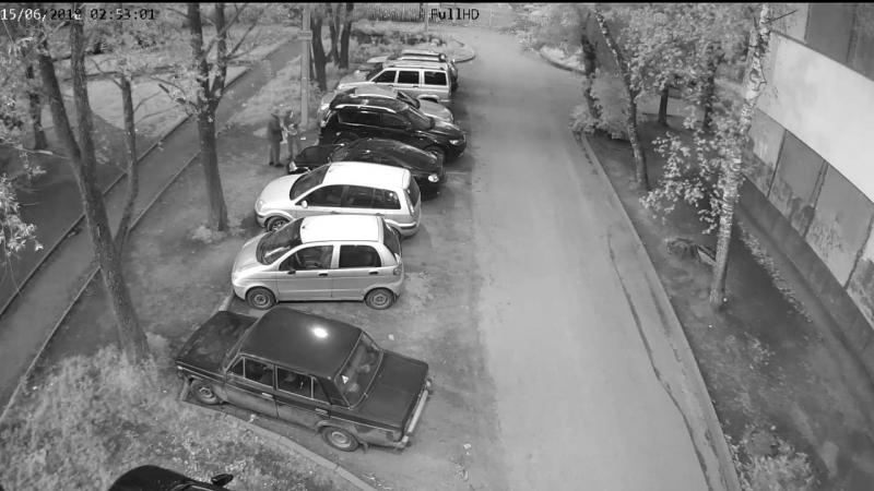 Поджог машин в Дзержинском районе Ярославля. (vk.comblack_list_yar)