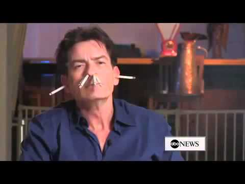 Charlie Sheen on Smoking Uncensored YouTube