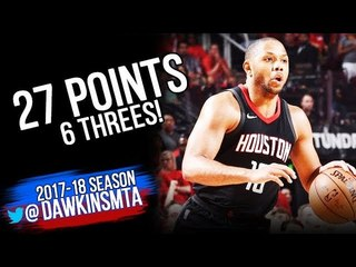 Eric Gordon Full Highlights 2018 WCF Game 2 Warriors vs Houston Rockets - 27 Pts! | FreeDawkins