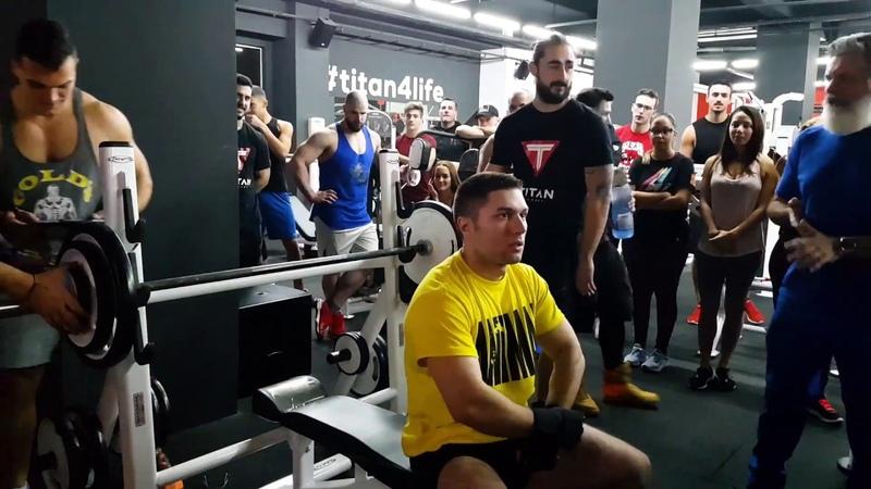 Bench press competition ÎNFRUNTAREA TITANILOR Titan Academy Ploiesti