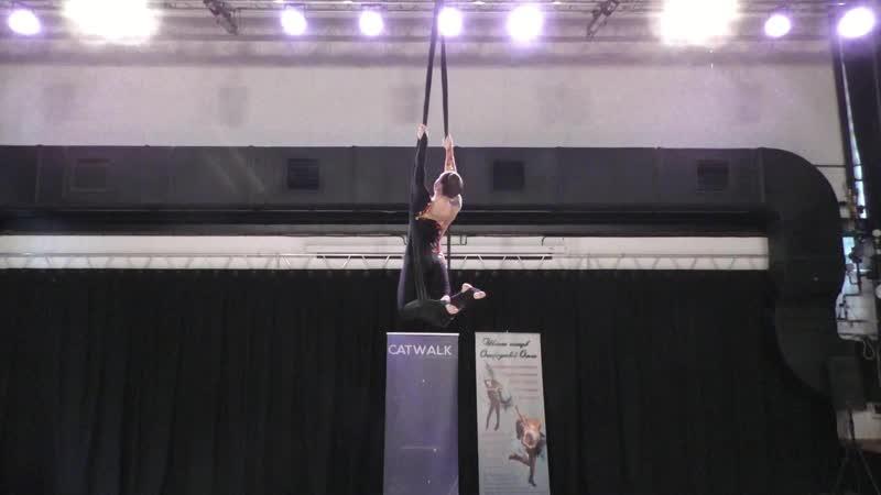 Кристина Квасова - Catwalk Dance Fest IX[pole dance, aerial] 30.04.18.