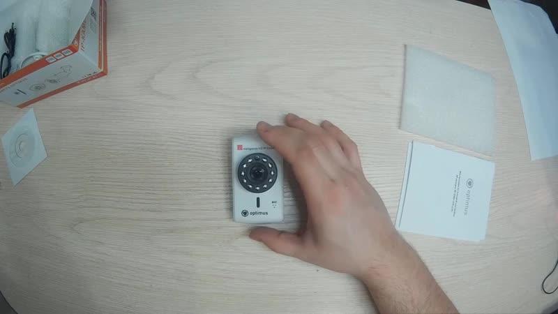 Распаковка и обзор IP-камеры Все в Одном Optimus IP-H061.0W(2.8)