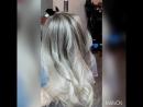 окрашивание волос осветление через airtouch