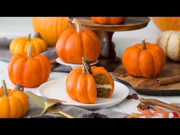 How to Make Pumpkin Cakes
