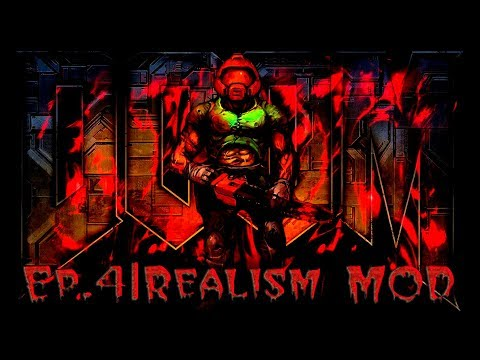 4-ый эпизод с Brutal Doom на реализме (мазохизме) ';.,.;'