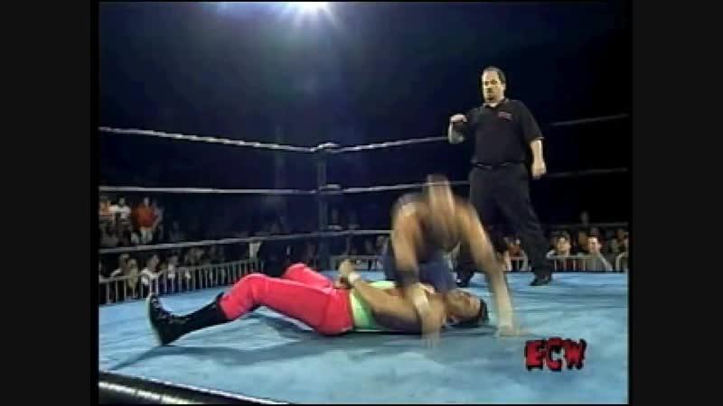 ECW Hardcore Revolution intro PS1