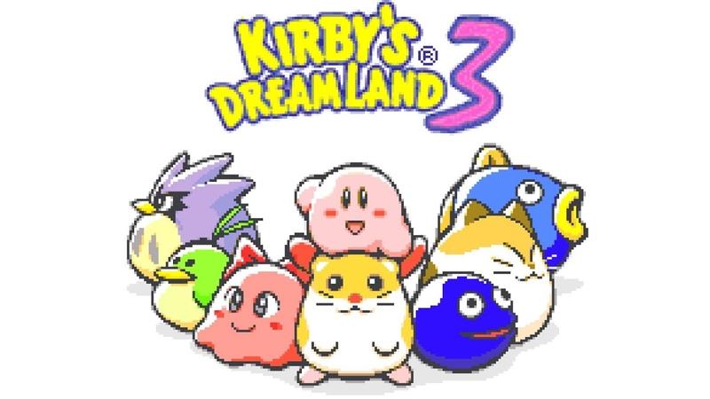 Sand Canyon 1 (Unused Mix) - Kirbys Dream Land 3