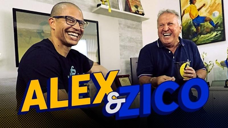ALEX JOGUEI MELHOR DO QUE TODOS EM 2003 - De Papo Parte 2 | Canal Zico 10