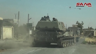 SANA Camera Walks in Al-Harak and Rekham towns after the army recovers control of them