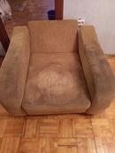 Вот сегодня почистили диван с креслом.