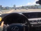 I wanna drive a car with Jah Khalib's song
