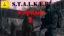 S.T.A.L.K.E.R. - В западне часть 1 Припять ,Путепровод и странный КБО