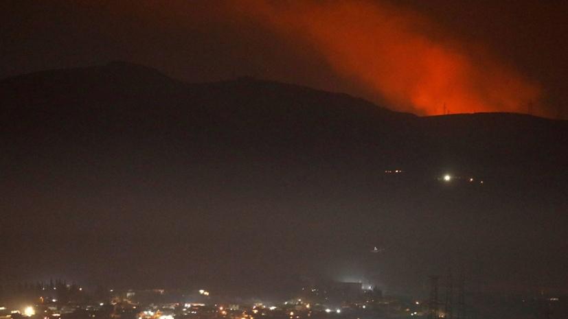 «Атака израильских ВВС совершалась в момент заходов на посадку гражданских лайнеров»