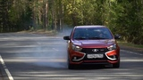 Лада Веста Спорт. Ауди Audi RS7 на минималках.
