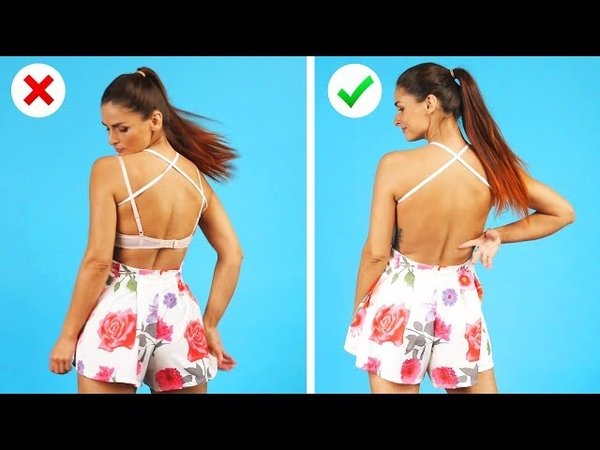 SO SIMPLE but SO CLEVER Fashion Hacks and DIY Clothes Ideas by Crafty Panda