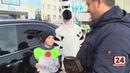 Юные инспекторы призывают водителей строго соблюдать ПДД