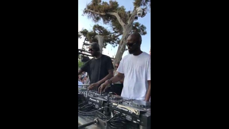 Blue Marlin Ibiza with Black Coffee Virgil Abloh