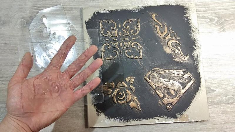 Как сделать трафарет из толстой пленки Трафарет для декора