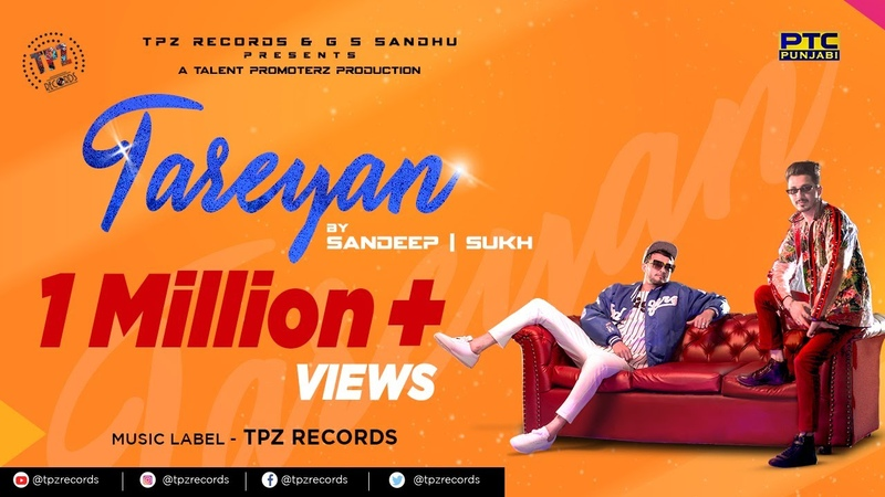 Tareyan (Full Video ) Sandeep | Sukh | Latest Punjabi Song | New Punjabi Song 2019