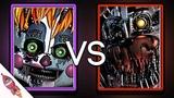 Five Nights At Freddy's Custom Night Rap Battle Scrap Baby VS Molten Freddy Rockit Gaming