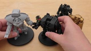 Legio Custodes Telemon Heavy Dreadnought - Review (HH)