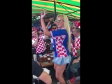 The World Cup 2018. Croatia &amp Nigeria. Elena Romantsova, Kaliningrad