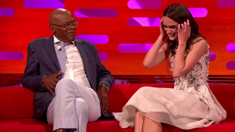 Keira Knightleys Sex Faces - The Graham Norton Show - Episode 11 Preview - BBC One [Rus]